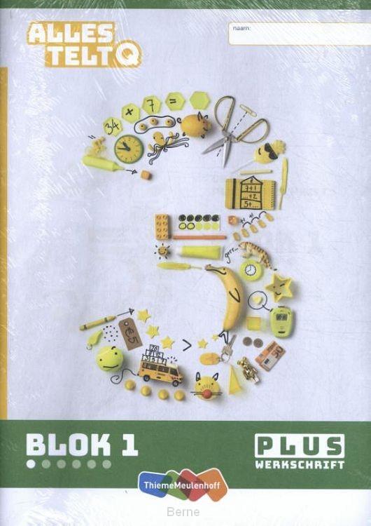 Alles telt Q Pluswerkschrift blok 1 t/m 6 groep 3