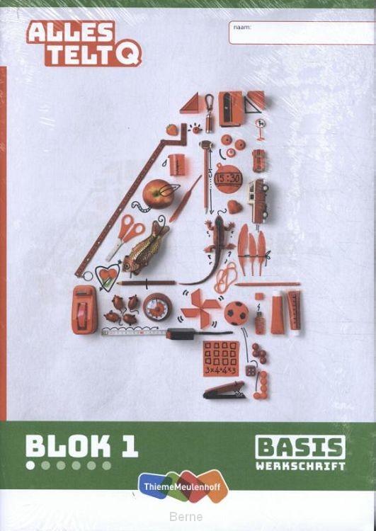 Alles telt Q Basiswerkschrift blok 1 t/m 6 groep 4