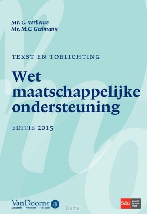 Tekst en toelichting WMO 2015