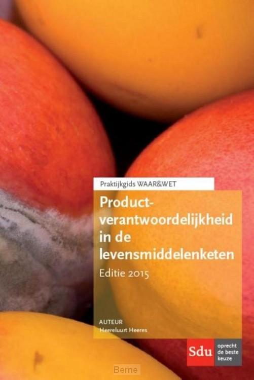 Productverantwoordelijkheid in de levensmiddelen