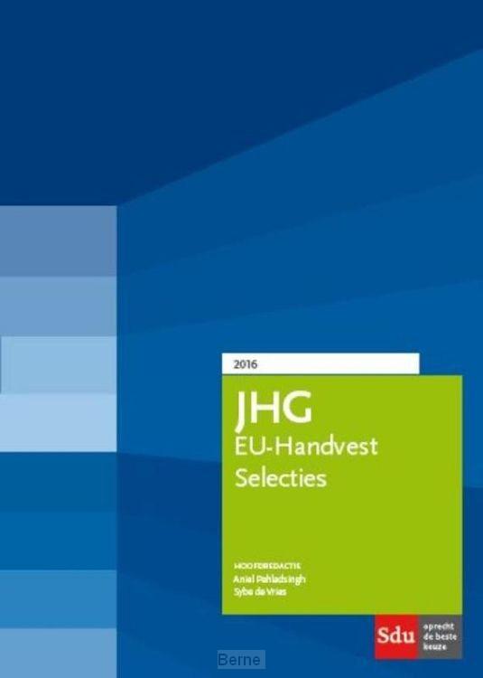 JHG tweede druk