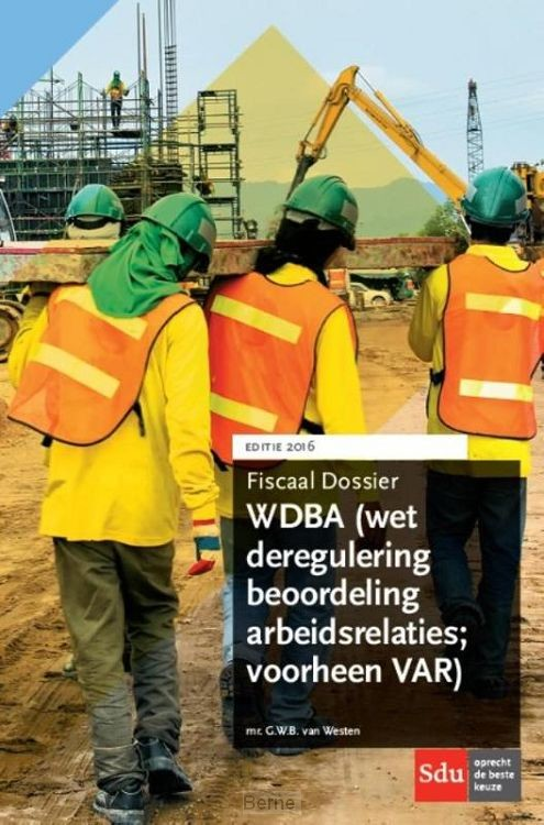 WDBA (Wet deregulering beoordeling arbeidsrelaties)
