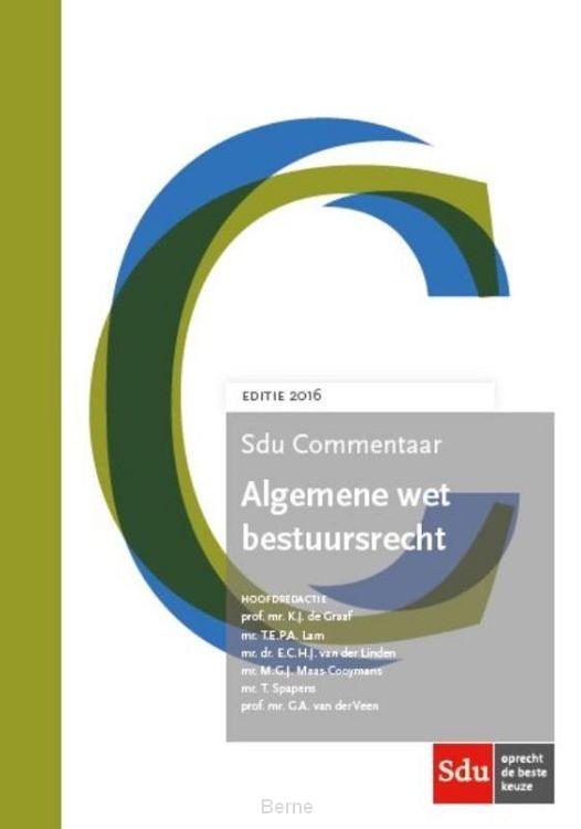 Sdu Commentaar Algemene wet bestuursrecht / 2016