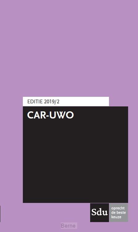 CAR-UWO Editie 2019/2