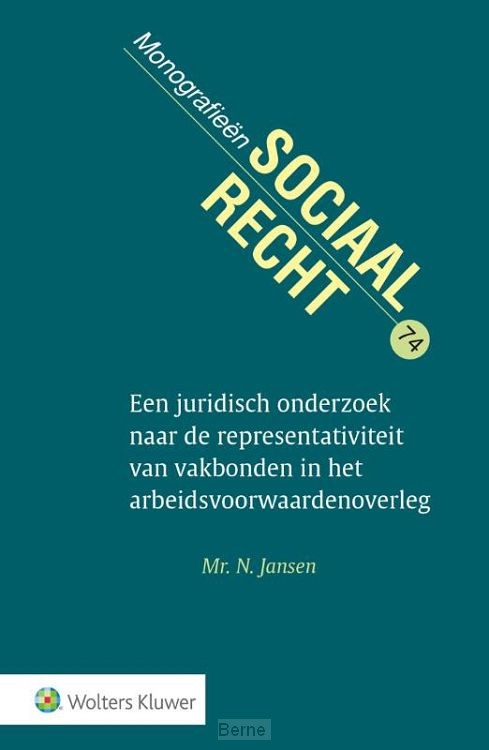 Juridisch onderzoek representativiteit vakbonden in arbeidsvoorwaardenoverleg
