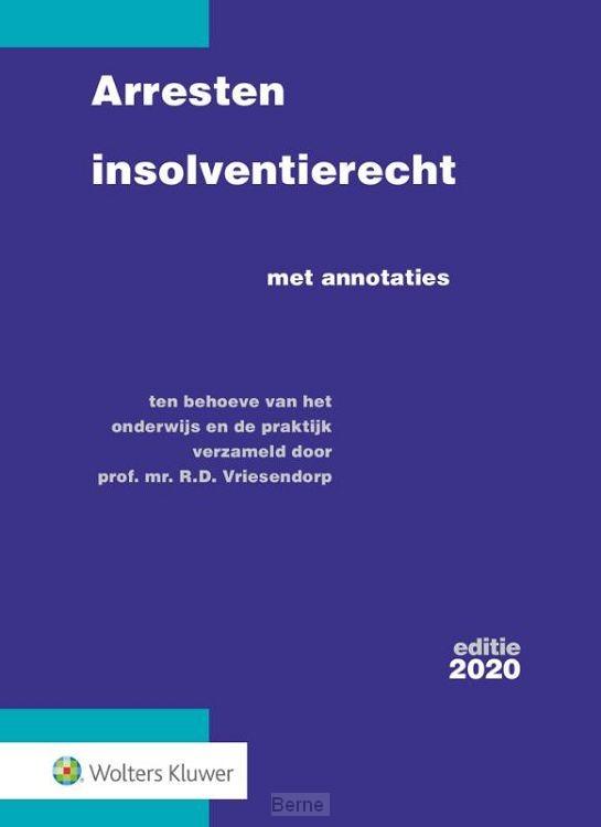 Arresten insolventierecht / 2020