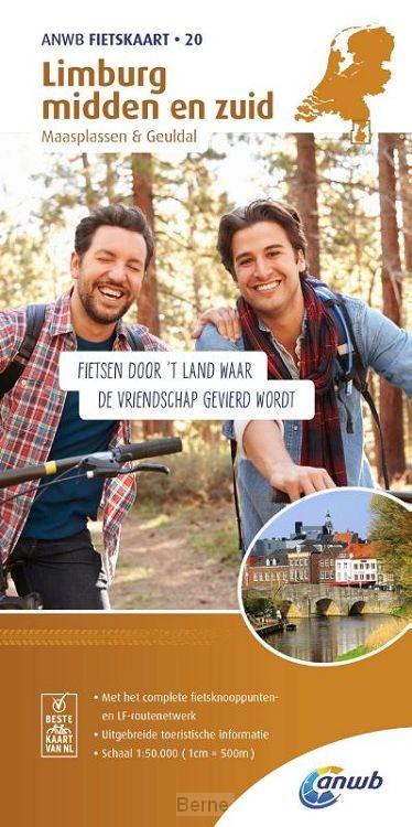 Limburg midden en zuid, Maasplassen & Geuldal 1:50.000