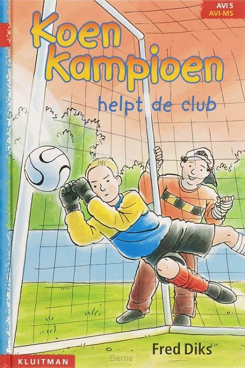 Koen Kampioen helpt de club