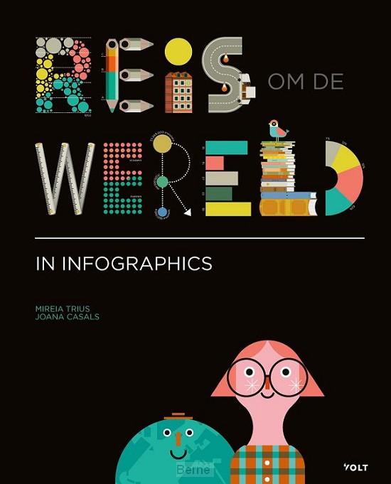 Reis om de wereld in infographics
