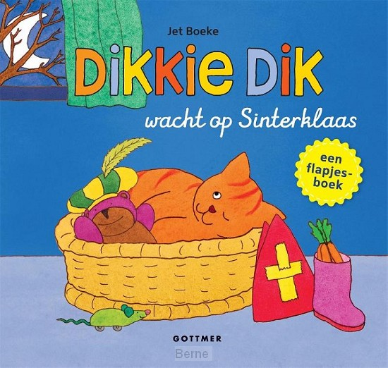 Dikkie Dik wacht op Sinterklaas