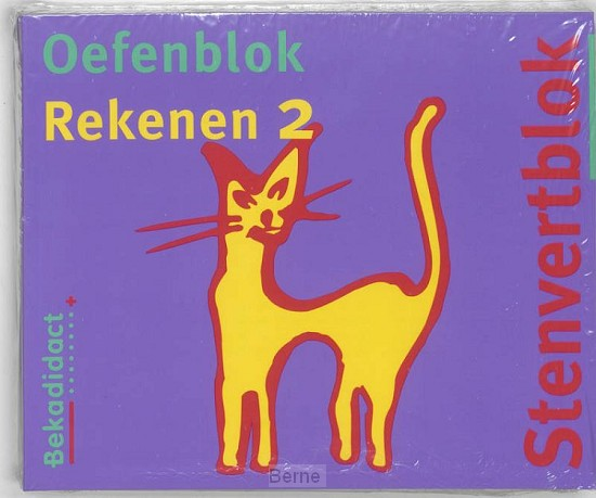 Gr 4 5 ex / Stenvert oefenblok / Rekenen