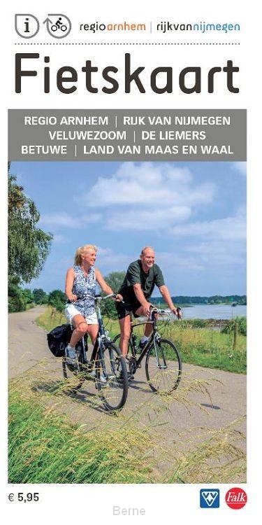 Fietskaart regio Arnhem Nijmegen