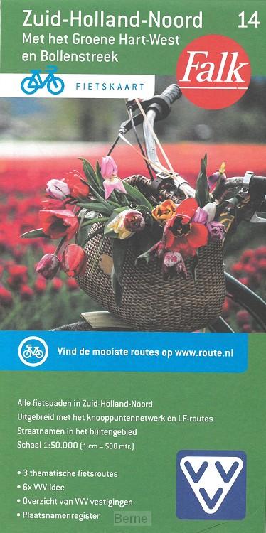 Falk VVV Fietskaart Zuid-Holland-Noord