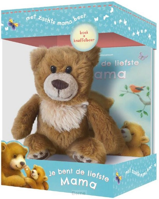 Je bent de liefste mama - boek & knuffelbeer