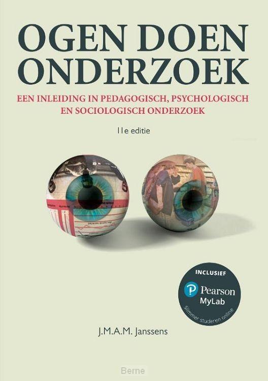 Ogen doen onderzoek, 11e editie met MyLab NL toegangscode
