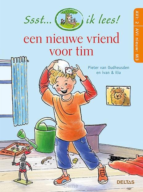 Een nieuwe vriend voor Tim Ssst... ik lees! / AVI 2 - AVI nieuw M3