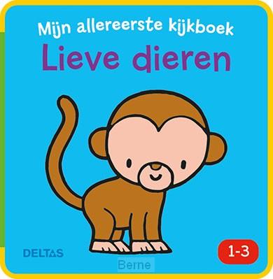 Mijn allereerste kijkboek / Lieve dieren 1-3