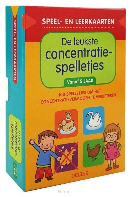Speel- en leerkaarten - De leukste concentratiespelletjes (vanaf 5 jaar)