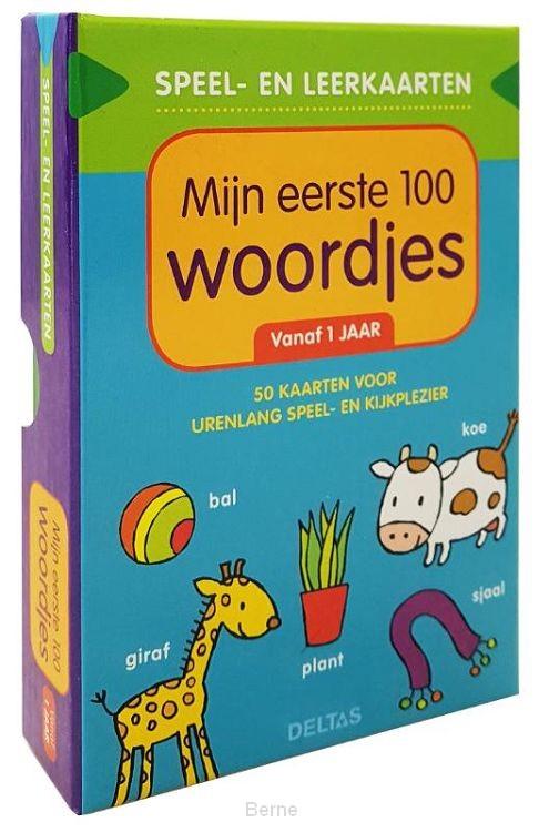 Speel- en leerkaarten - Mijn eerste 100 woordjes (vanaf 1 jaar)