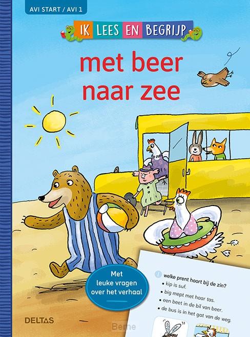 Ik lees en begrijp - met beer naar de zee (AVI START / AVI 1)