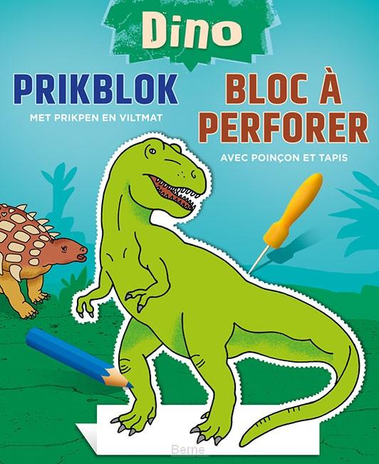 Dino prikblok / Dino bloc à perforer