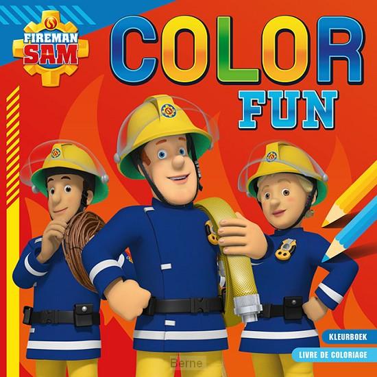 Brandweerman Sam Color Fun / Sam le pompier Color Fun