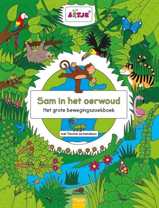 Sam in het oerwoud