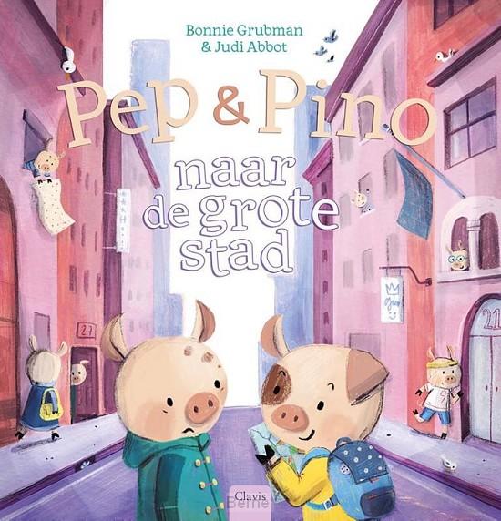 Pep en Pino naar de grote stad