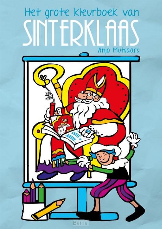 Het grote kleurboek van Sinterklaas