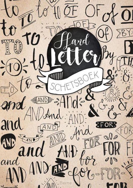 Handletter schetsboek