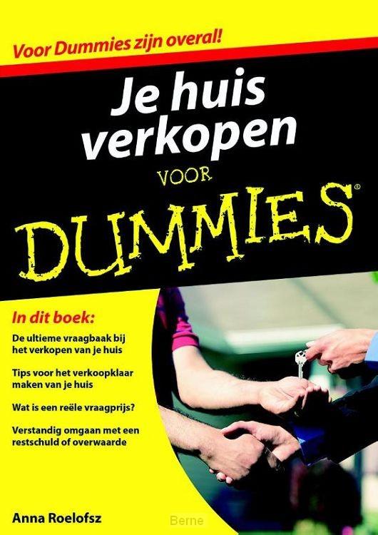 Je huis verkopen voor Dummies