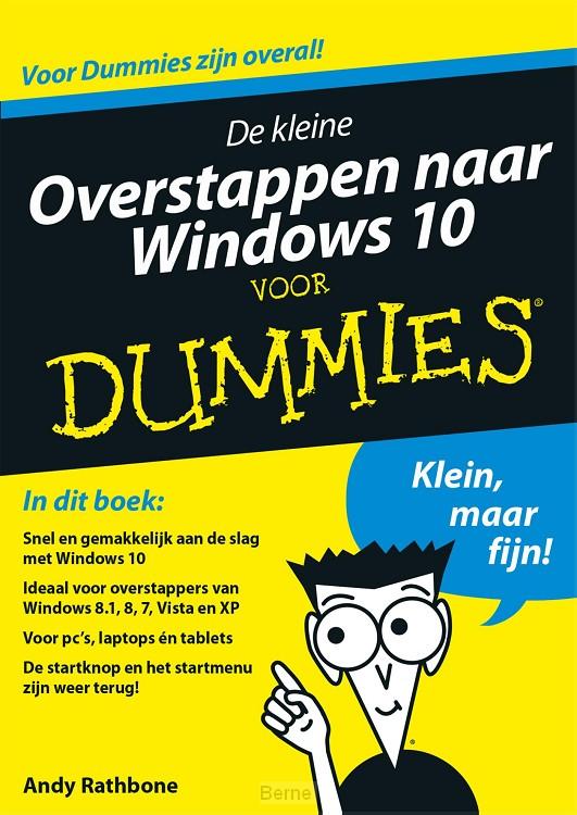 De kleine overstappen naar Windows 10 voor Dummies