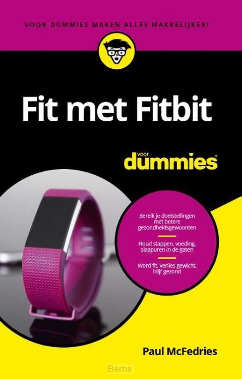 Fit met Fitbit voor Dummies, pocketeditie