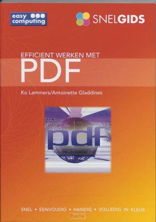 Snelgids Efficient werken met PDF