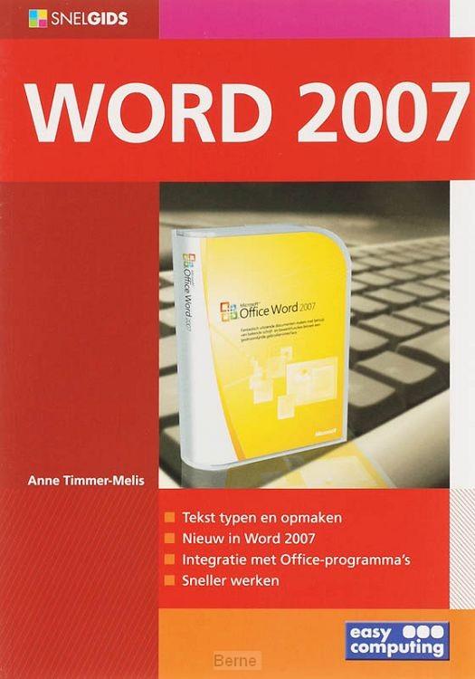 Snelgids word 2007