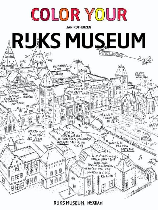 Color your Rijksmuseum