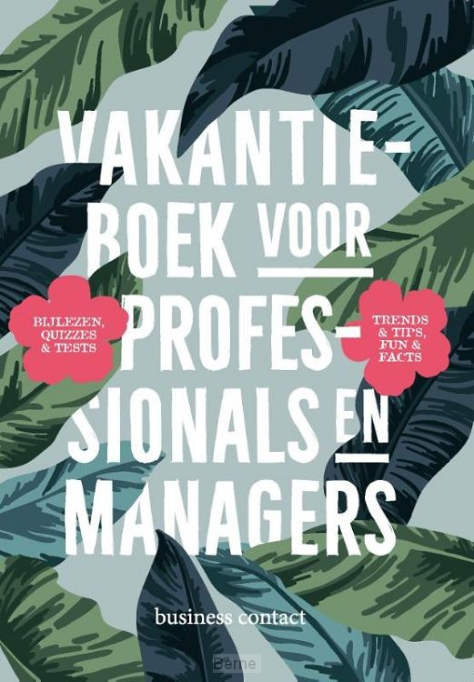 Vakantieboek voor professionals en managers