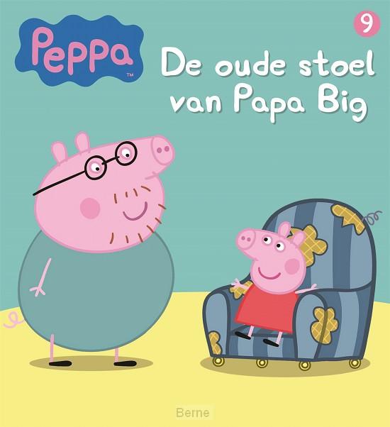 De oude stoel van Papa Big