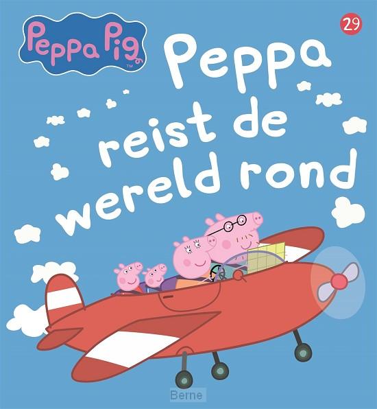 Peppa reist de wereld rond