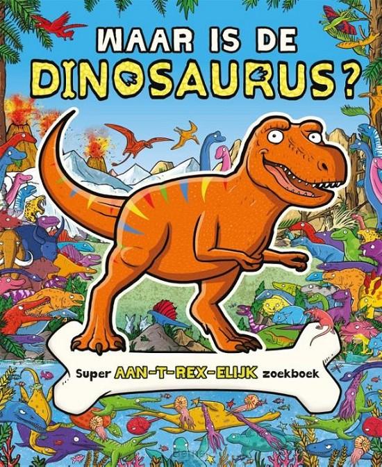 Waar is de dinosaurus - zoekboek