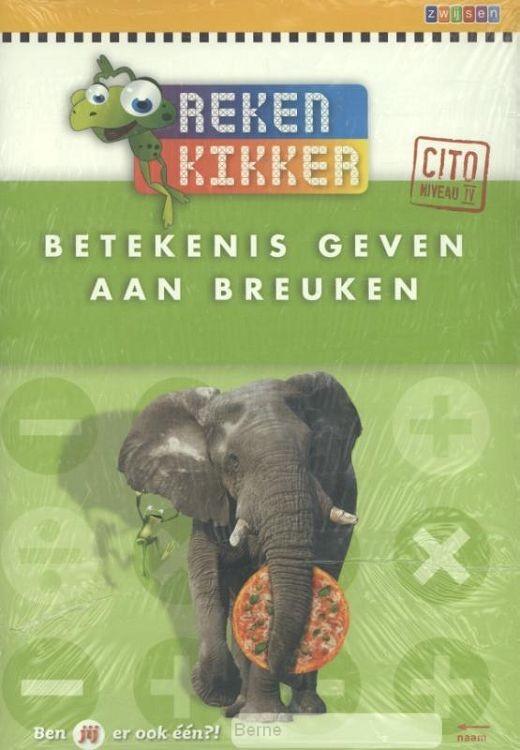 Betekenis geven aan breuken / Rekenkikker 5ex. / Werkboek