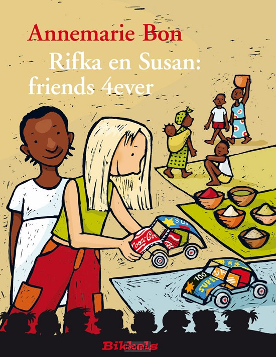 Rifka en Susan: friends 4ever