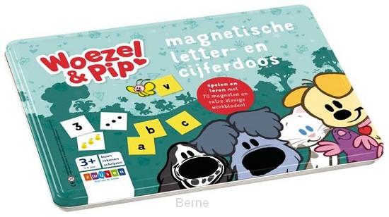 Woezel & Pip magnetische letter- en cijferdoos