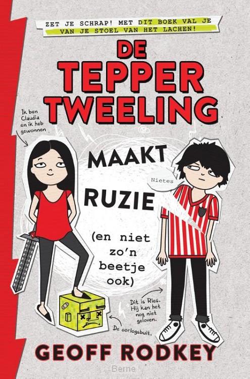 De Tepper-tweeling maakt ruzie (en niet