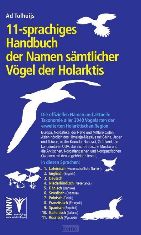 11-sprachiges Handbuch der Namen sämtlicher Vögel der Holarktis