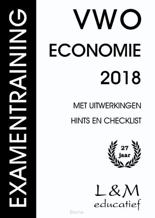 Examentraining / Vwo Economie 2018