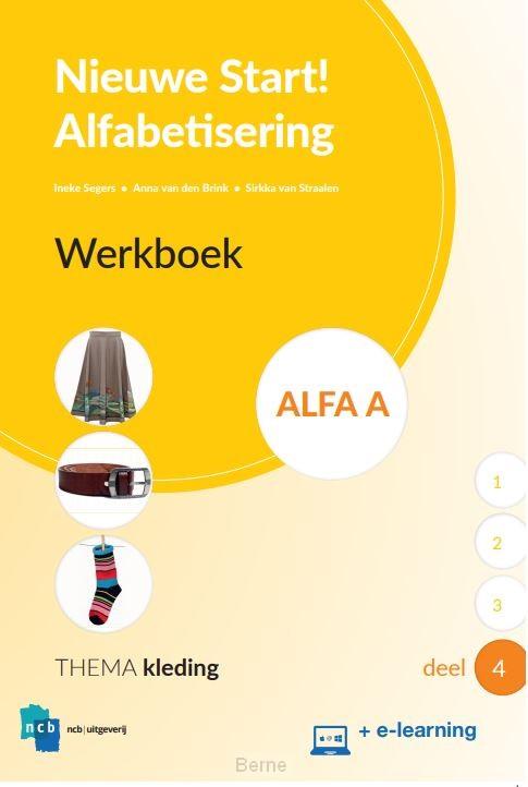 Nieuwe Start Alfabetisering Werkboek Alfa A Deel 4