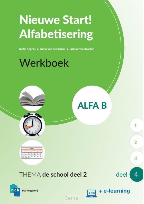 Nieuwe Start Alfabetisering Werkboek Alfa B Deel 4