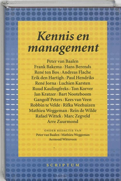 Kennis en management