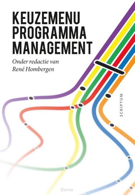 Keuzemenu programmamanagement